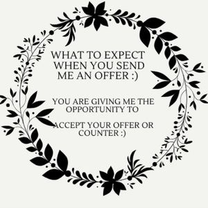 What to Expect When you send me an offer